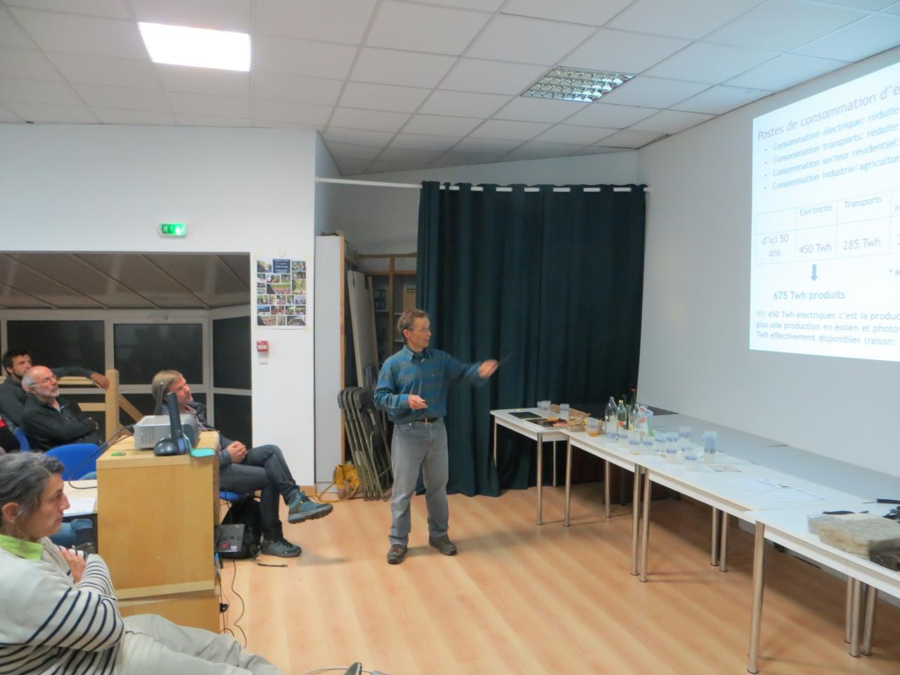 Michel Cranga nous expose son scénario énergétique