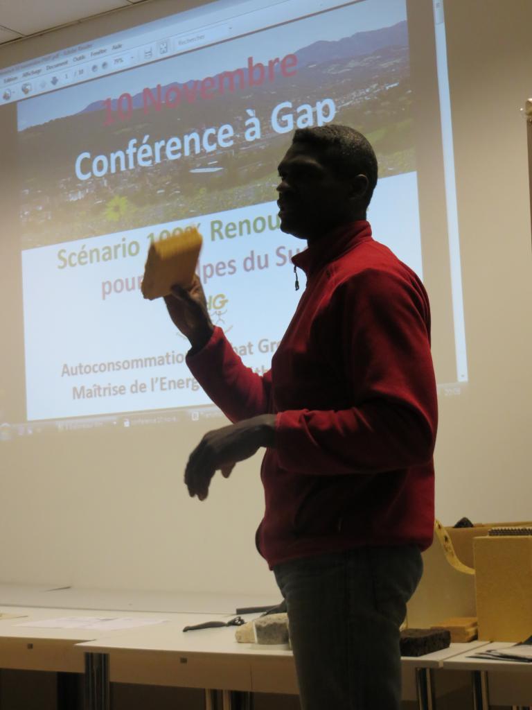 Pierre Brissaud nous parle d'éco-matériaux, bis