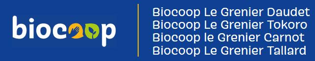 Logo biocoop le grenier