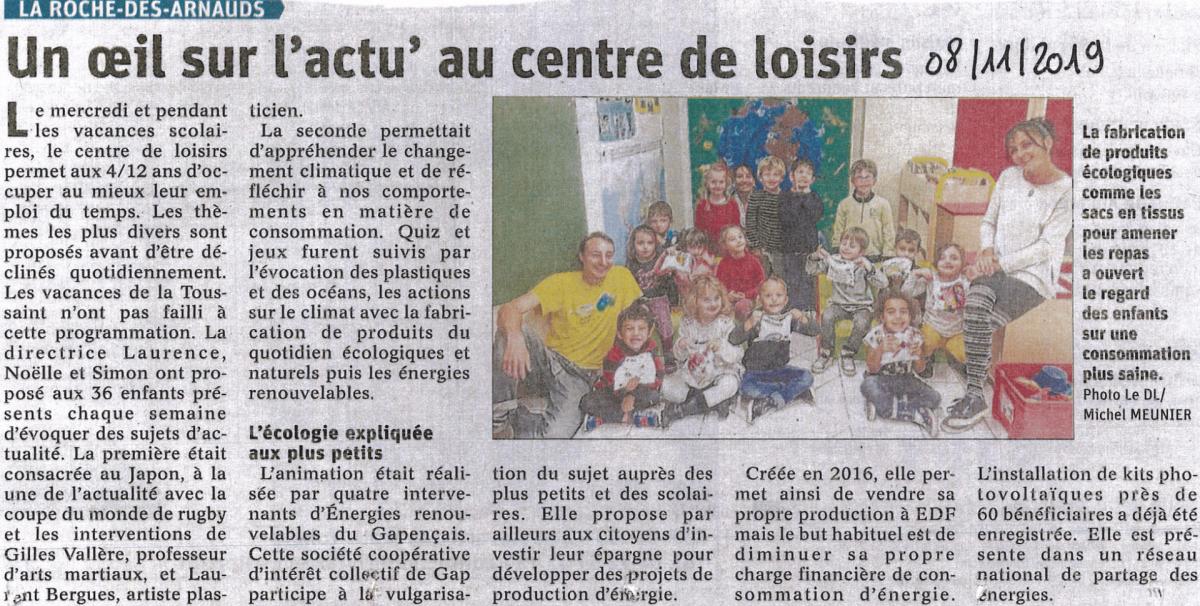 Roche des arnauds oct2019